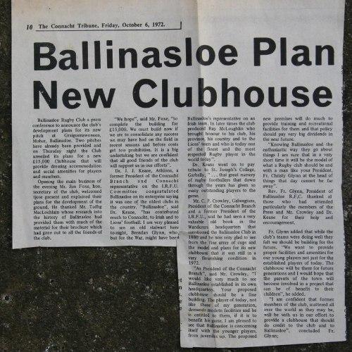 Ballinasloe RFC - 18